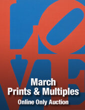 Catalog cover for 2018 March 27 Online Prints & Multiples Auction