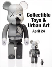 Catalog cover for 2018 April 24 Collectible Toys and Urban Art Fine Art - Dallas