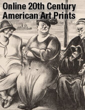Catalog cover for Online 20th Century American Art Prints