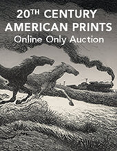 Catalog cover for 2018 November 13 20th Century American Prints - Dallas