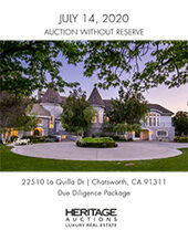 Catalog cover for 2020 July 14 LRE - Los Angeles Indian Springs Estate Real Estate Signature Auction - Dallas
