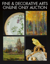 Catalog cover for 2019 December 12 Fine & Decorative Arts Monthly Online Auction