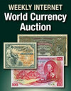 Weekly World Currency Internet Auction
