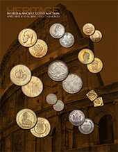 Catalog cover for 2014 April 10-12 & 15-16 CICF World and Ancient Coins Signature Auction - Chicago