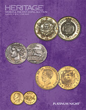 Catalog cover for 2014 August 8 ANA World and Ancient Coins Platinum Night Auction - Chicago
