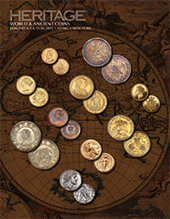 Catalog cover for 2015 January 4 - 5 NYINC World Coins & Ancient Coins Signature Auction - New York
