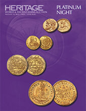 Catalog cover for 2015 August 13 ANA World and Ancient Coins Platinum Night Auction