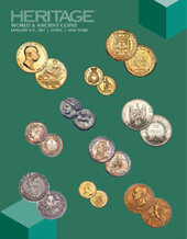 Catalog cover for 2017 January 8 - 9 NYINC World Coins Signature Auction - New York