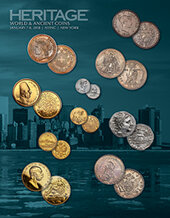 Catalog cover for 2018 January 7 - 8 NYINC World Coins Signature Auction - New York