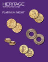 2019 August 15 ANA World's Fair of Money World Coins Platinum Night Auction - Chicago