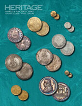 Catalog cover for 2020 January 21 NYINC World & Ancient Coins Signature Online Auction
