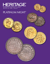 Catalog cover for 2020 August 5 - 7 World Coins & Ancient Coins Platinum Night Auction - Dallas