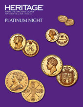Catalog cover for 2020 November 5 - 6 World & Ancient Coins Platinum and Signature Online Auction - Dallas