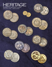 Catalog cover for 2021 June 24 - 25 HKINF World Coins Signature Auction - Hong Kong