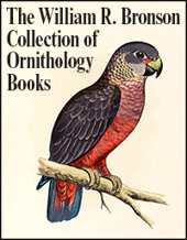 Catalog cover for The William R. Bronson Collection of Ornithology Books Weekly Internet Rare Books and Autographs Auctions