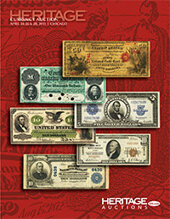 Catalog cover for 2013 April 24 - 26 & 28 Currency Signature Auction - Chicago