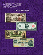 Catalog cover for 2014 August 6 ANA Currency Platinum Night Auction - Chicago