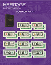 Catalog cover for 2015 August 13 ANA Currency Platinum Night Auction - Chicago