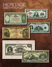 Catalog cover for 2016 January 7 - 11 FUN World Currency Signature Auction - Tampa