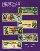 Catalog cover for 2017 July 31 - August 8 ANA Currency Signature Auction - Denver