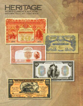 Catalog cover for 2017 September 6 - 12 Long Beach Expo World Currency Signature Auction - Long Beach