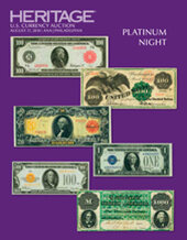 Catalog cover for 2018 August 17 ANA WFOM Currency Platinum Night Auction - Philadelphia