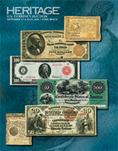 Catalog cover for 2018 September 5 - 11 Long Beach Expo Currency Signature Auction - Long Beach
