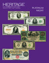 2019 August 15 ANA World's Fair of Money Currency Platinum Night Auction - Chicago