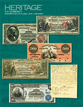 Catalog cover for 2020 January 8 - 14 FUN Currency Signature Auction - Orlando