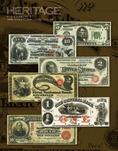 Catalog cover for 2020 April 22 - 27 Central States Currency Signature Auction - Dallas