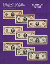 Catalog cover for 2020 August 3 U.S. Currency Signature Auction - Dallas