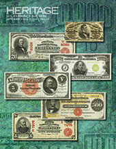 Catalog cover for 2020 September 17 - 21 Currency Signature Auction - Dallas