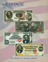Catalog cover for 2020 June 5 The Pinnacle US Rarities Collection Long Beach Expo Currency Signature Auction - Dallas