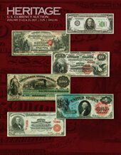 Catalog cover for 2021 January 21 - 25 FUN Currency Signature Auction - Dallas