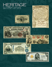 Catalog cover for 2021 April 21 - 23 Central States Currency Signature Auction - Dallas