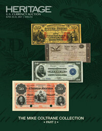2021 June 24 - 25 The Mike Coltrane Collection Part 2 Currency Signature Auction - Dallas
