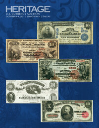 2021 October 6 - 8 Long Beach Expo US Currency Signature® Auction