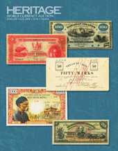 Catalog cover for 2018 January 4 - 8 FUN World Currency Signature Auction - Tampa