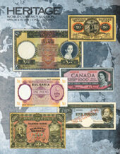 Catalog cover for 2018 April 26 - 30 CSNS World Currency Signature Auction - Chicago