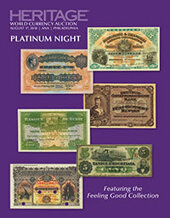 Catalog cover for 2018 August 17 ANA WFOM World Currency Platinum Night Auction - Philadelphia