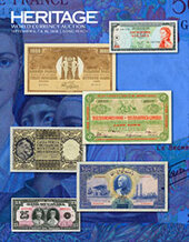 Catalog cover for 2018 September 6 - 10 Long Beach Expo World Currency Signature Auction - Long Beach