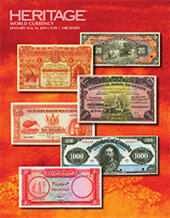 Catalog cover for 2019 January 10 - 14 FUN World Currency Signature Auction - Orlando