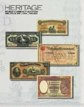 Catalog cover for 2019 April 25 - 29 Central States World Currency Signature Auction - Chicago