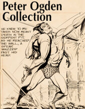 Catalog cover for 2020 January 9 The Edgar Rice Burroughs Collection from the Comics Signature Internet Auction