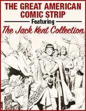 Catalog cover for 2020 February 26 The Great American Comics Online Auction Featuring the Jack Kent Collection