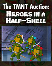 Catalog cover for 2020 December 10 The TMNT Auction: Heroes in a Half-Shell ((Monthlong Auction))