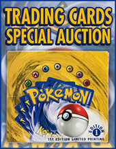 Catalog cover for 2021 March 25 Trading Cards Special Online Auction