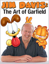 Catalog cover for 2021 April 15 Jim Davis: The Art of Garfield Month-long Online Auction
