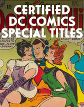 Catalog cover for 2021 July 8 Certified DC Comics Special Titles Showcase Auction