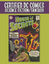 Catalog cover for 2021 July 15 Certified DC Comics Science Fiction/Fantasy Titles Showcase Auction
